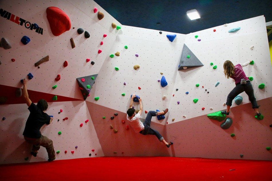 Redpoint Bristol - Bouldering Wall, 137 kb