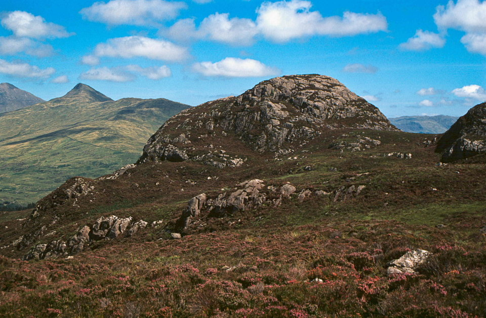 The very mountainous Castell in the Moel Hebog range, 175 kb