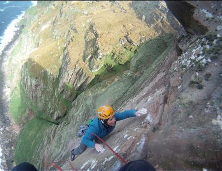 Ben Bransby working the final moves of the final pitch., 30 kb