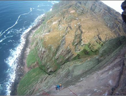 Massive exposure on St John's Head, Hoy., 30 kb