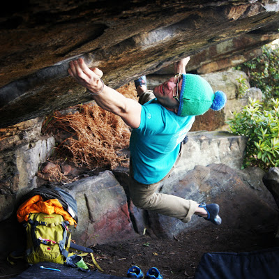 Ethan Walker on River of Life, V11/8A, Turning Stone., 74 kb
