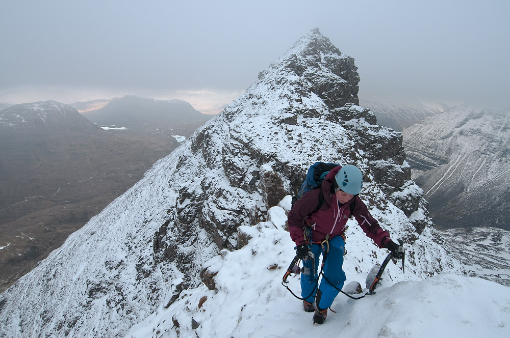 Liathach. Crossing the Northern Pinnacles, 233 kb