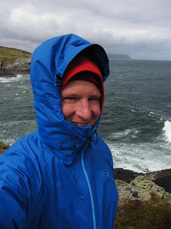 Wild day on Scotland's north coast, 97 kb