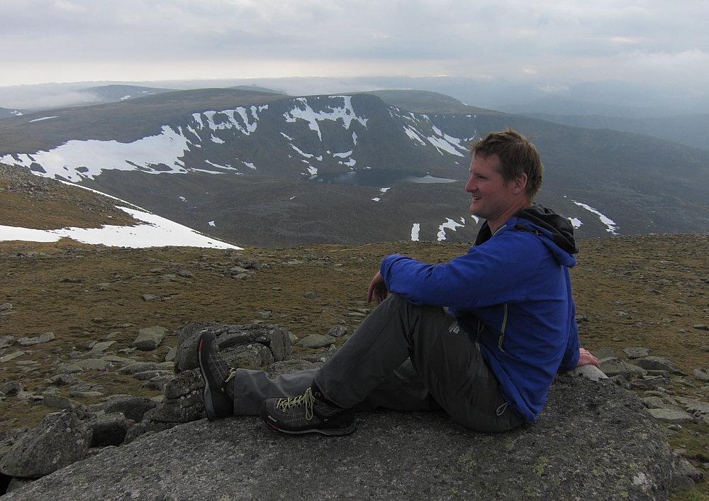 Salewa Mtn Trainer Mid on Lochnagar, 147 kb