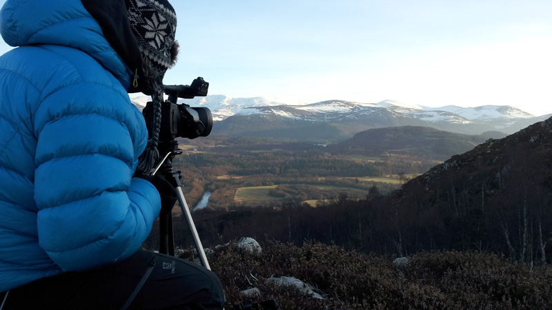 New to SteepEdge � The Cairngorms in Winter with Chris Townsend, 107 kb