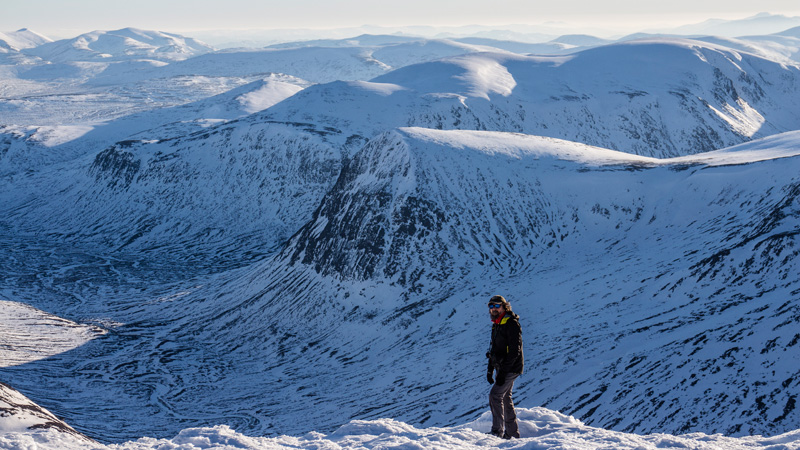 New to SteepEdge � The Cairngorms in Winter with Chris Townsend, 189 kb