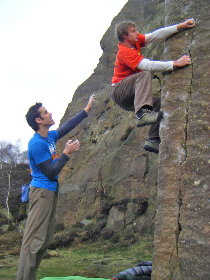 Pete Whittaker testing out the STEALTH rubber in Tennies on Technical Master Left-hand, 130 kb