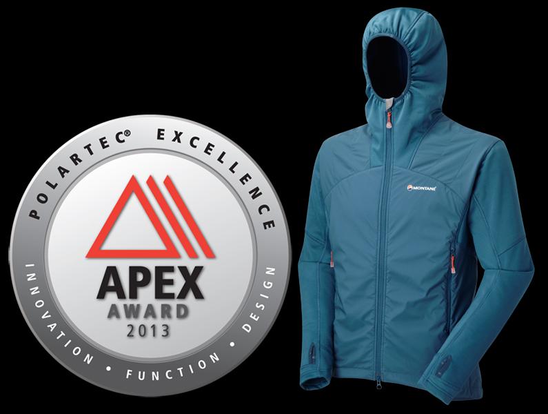 MONTANE® wins 2013 POLARTEC® Apex Award, 189 kb