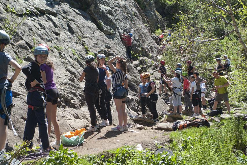 A crowded Dalle de Vallorcine, 193 kb