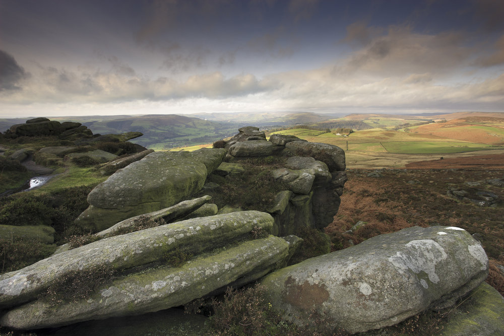 An Autumn afternoon on Over Owler Tor, 164 kb