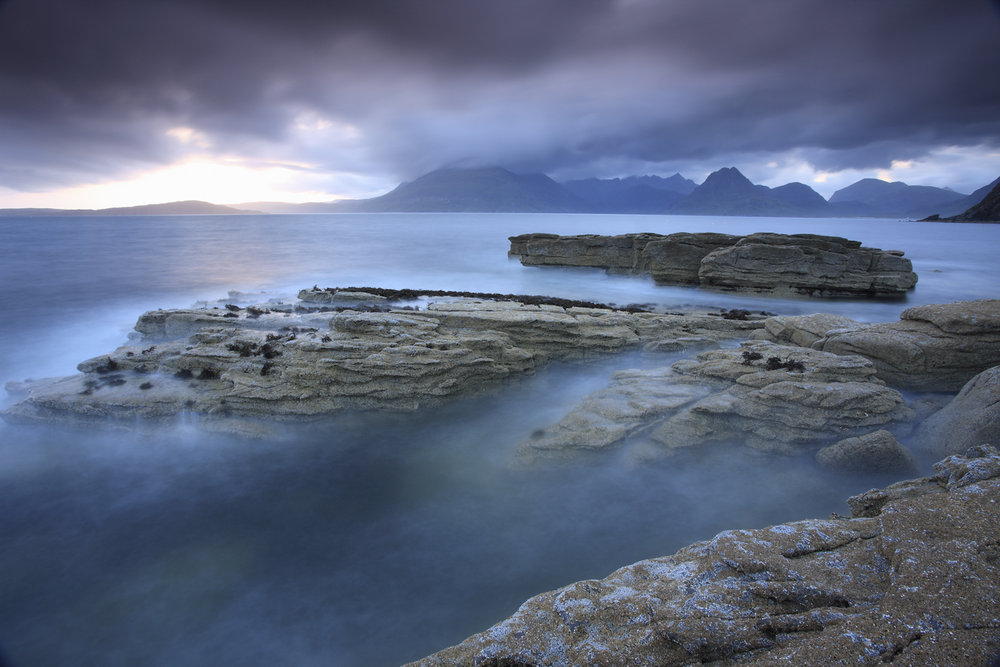The Black Cuillins from Elgol, 130 kb