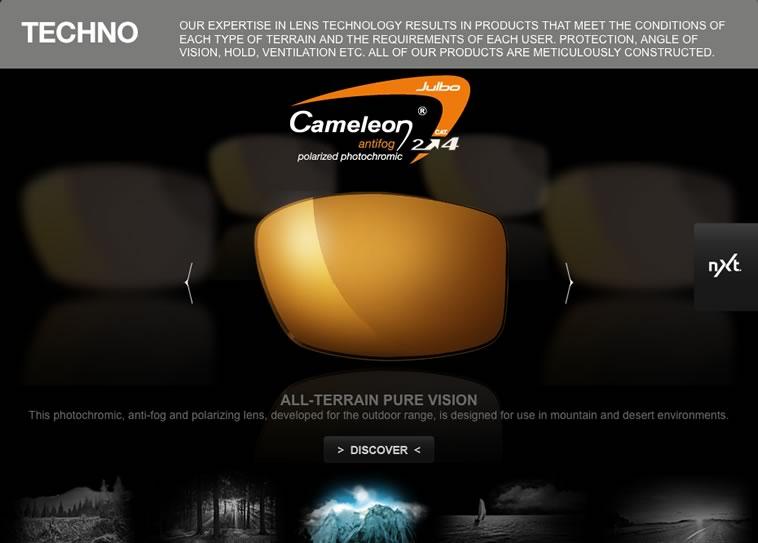 Julbo Lens Simulator, 40 kb
