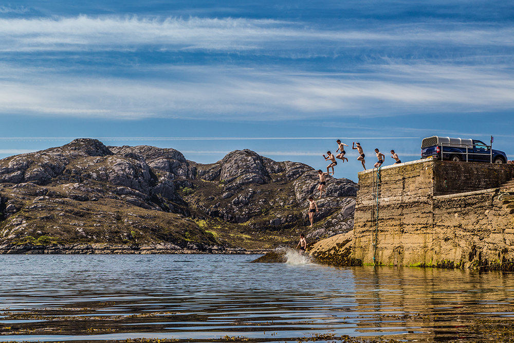 Lots to do when it's too hot to climb at Diabaig!, 259 kb