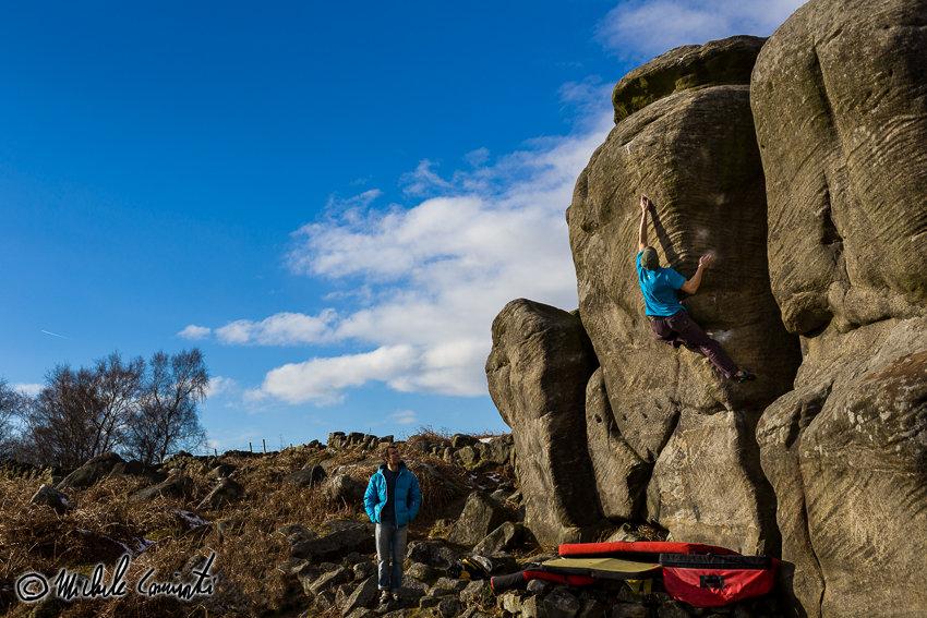 Michele Climbing Superbloc, 8A, Gardoms, 160 kb