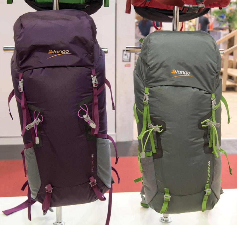The new Vango 50L Khumbu rucksack, 150 kb