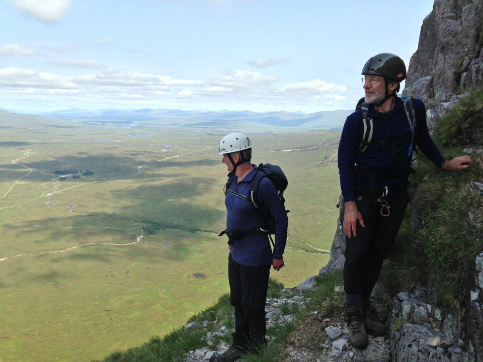 Looking out over Rannoch Moor from The Buachaille © UKC Articles