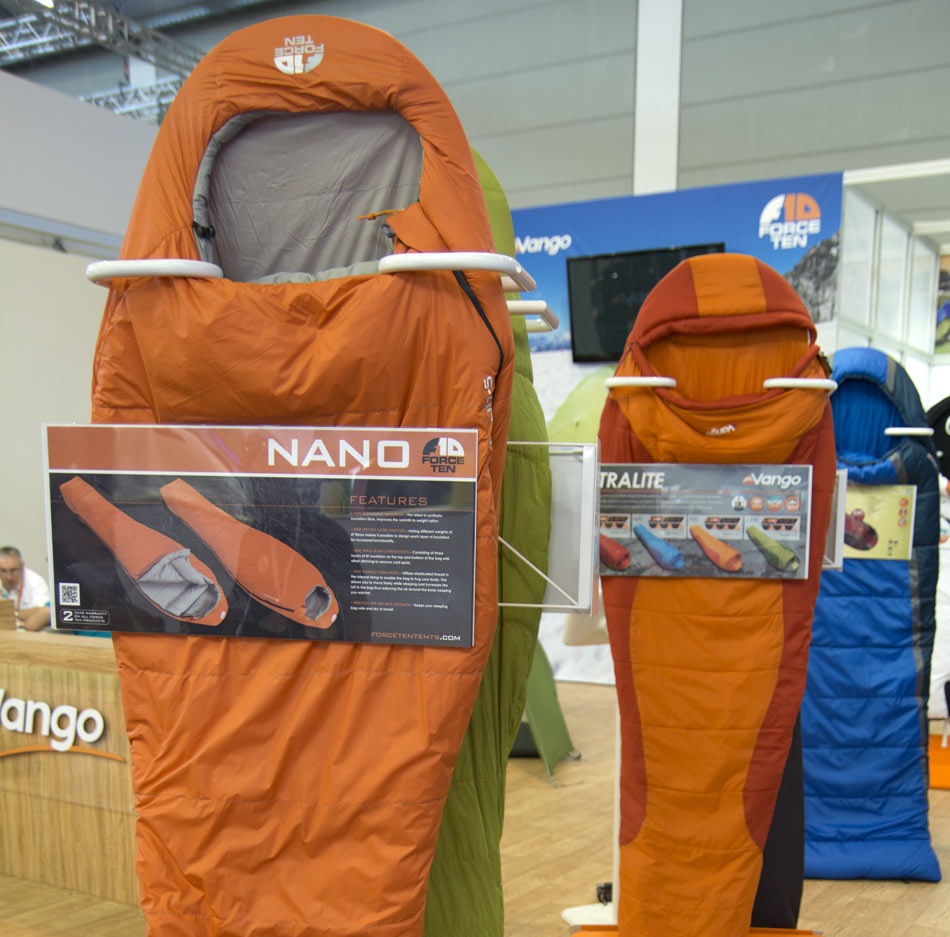Vango Force Ten Nano sleeping bag, 141 kb