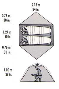 MSR Hubba Hubba NX tent plan, 8 kb
