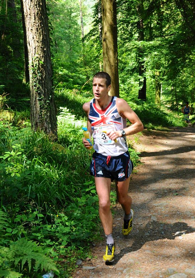 Iain Ridgway feeling the heat at the recent World Trail Champs, 167 kb