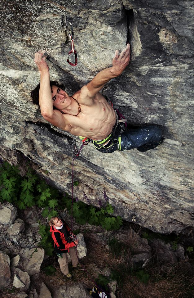 Adam Ondra on a new 9a/+, Hell, Norway, 161 kb