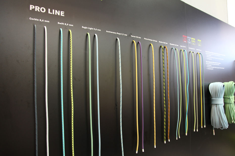 The Edelrid Pro Line of Ropes, 99 kb