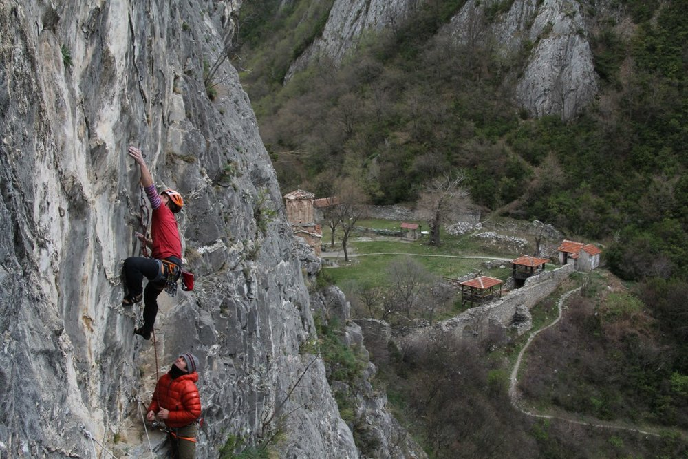 More quality granite climbing in Macedonia, 170 kb