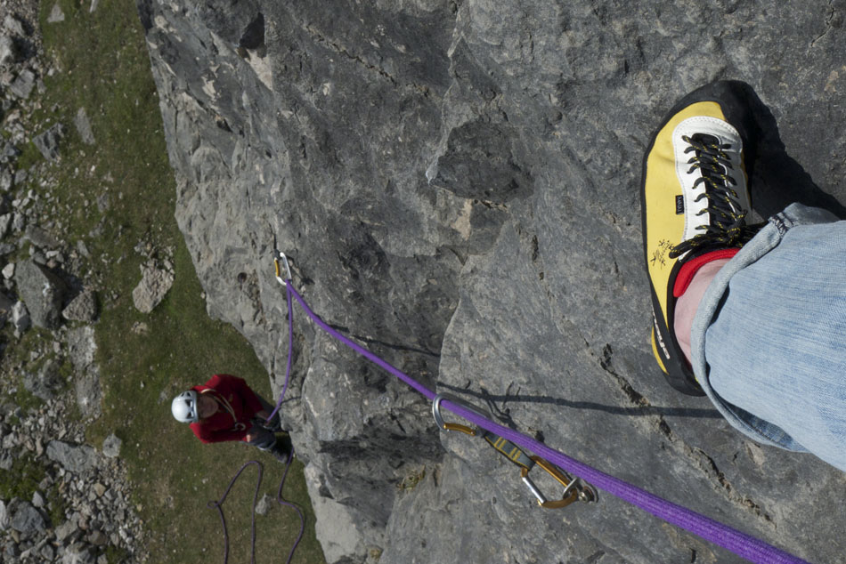The Tenaya Masai in action on Yorkshire Limestone, 169 kb