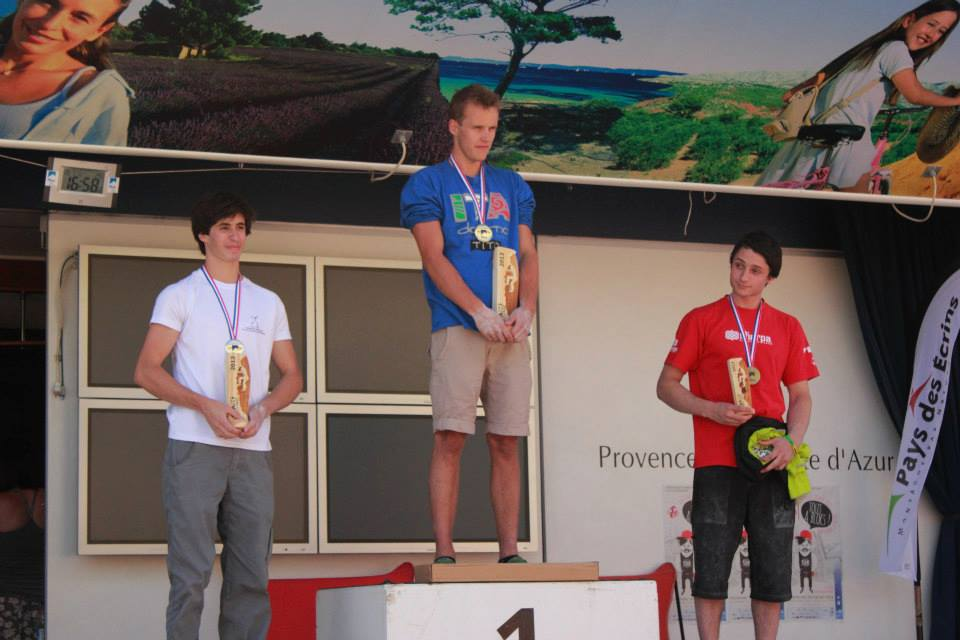 Nathan Phillips on the first ever British Junior Podium!, 67 kb