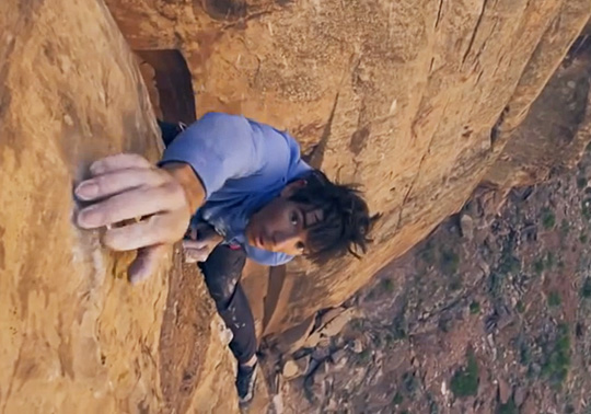 Alex Honnold at the Green river, Utah, 81 kb