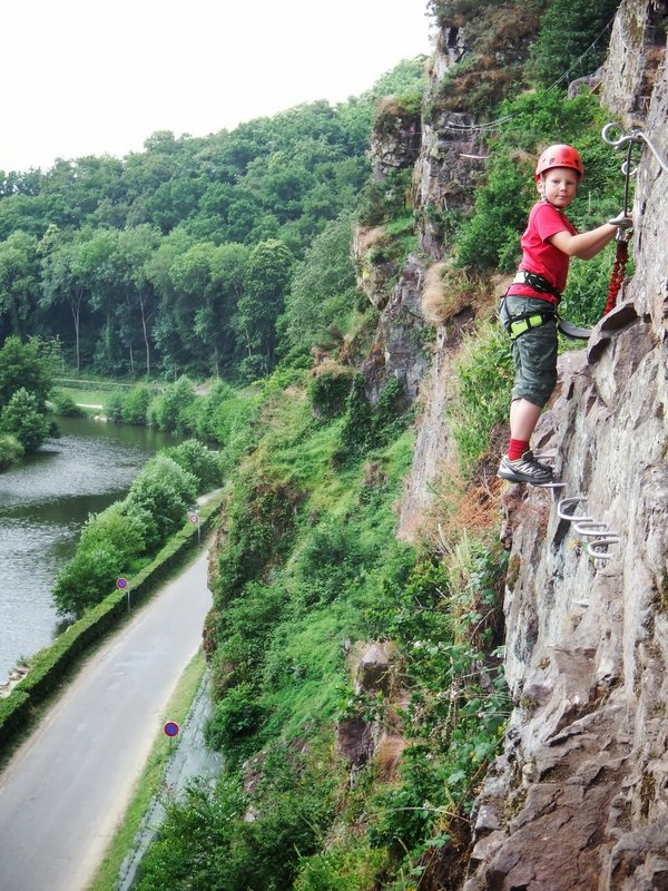 Clécy Via Ferrata, Normandy, France., 154 kb