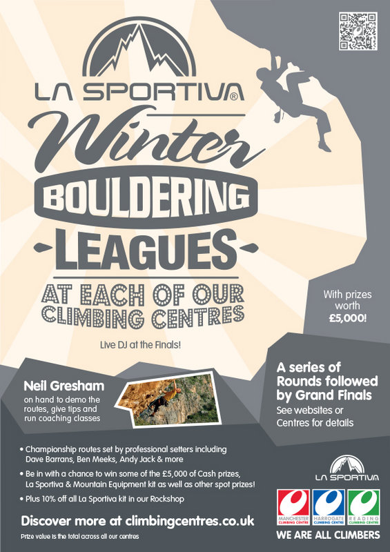 La Sportiva Winter Bouldering League, 140 kb