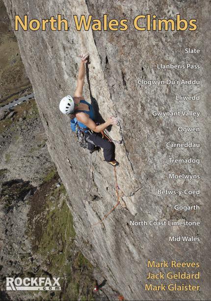 North Wales Climbs Rockfax Cover, 177 kb