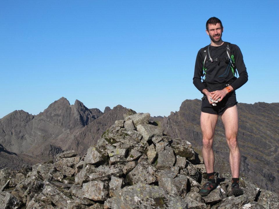 Finlay Wild on Gars-bheinn, 129 kb