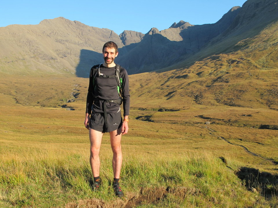 Sub 3hr Cuillin Traverse in the bag, 188 kb