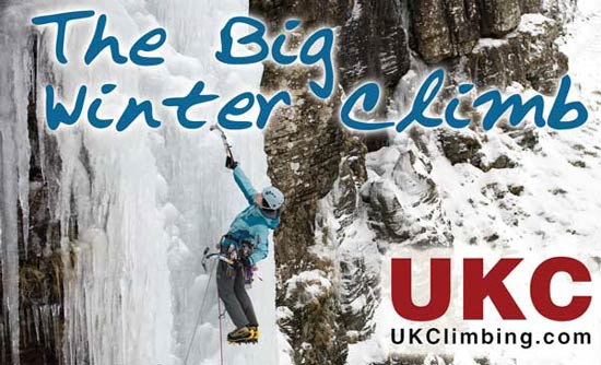 Big Winter Climb at PyB: BOOK NOW, Courses, holidays, expeditions, accommodation Premier Post, 4 weeks @ GBP 35pw, 47 kb