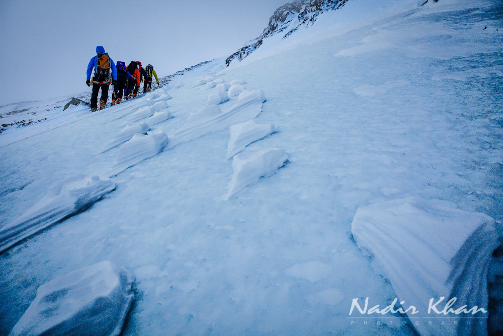 snow and ice climbing photography #4, 156 kb