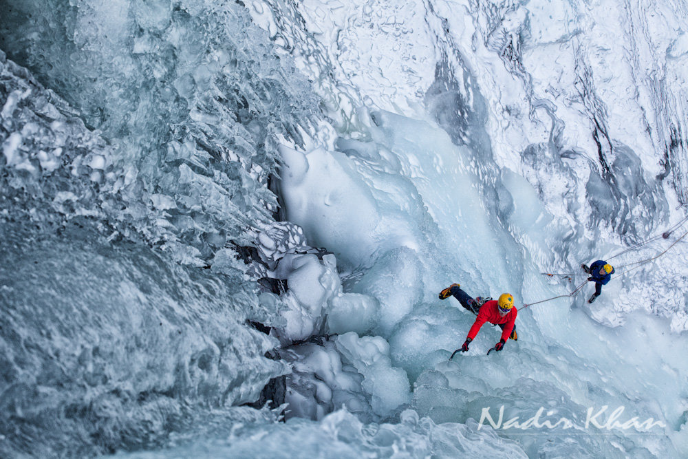 snow and ice climbing photography #5, 227 kb
