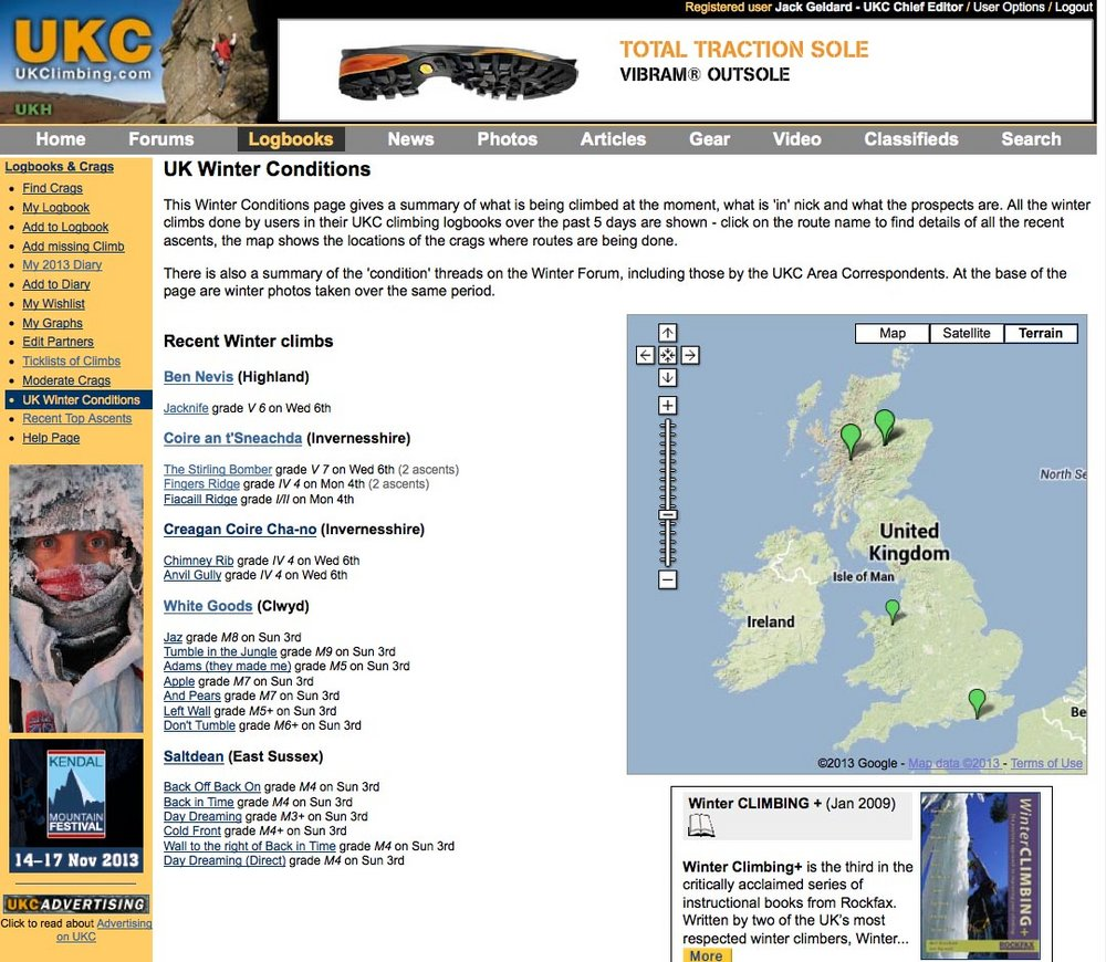 UK Winter Conditions Page, 197 kb
