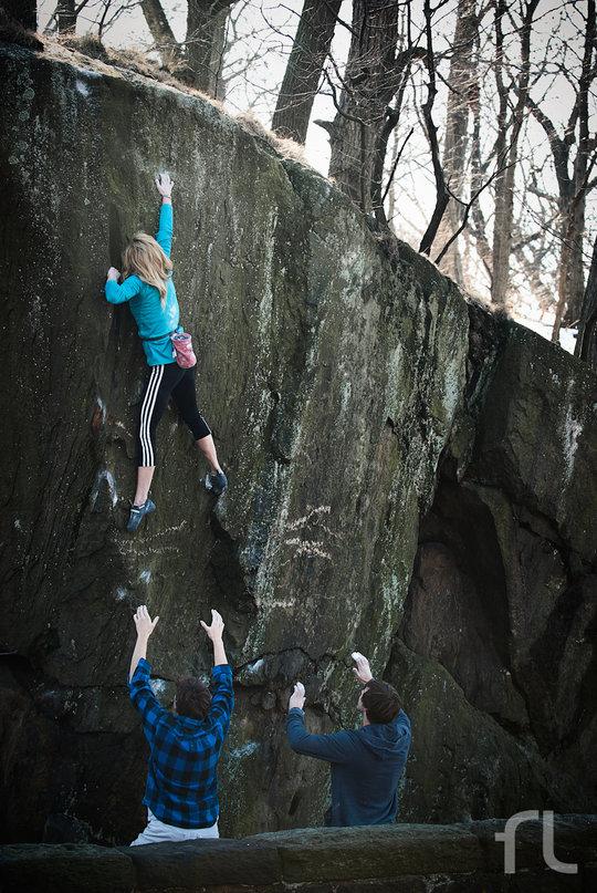 Sasha Digiulian climbs Life is Beautiful, 175 kb