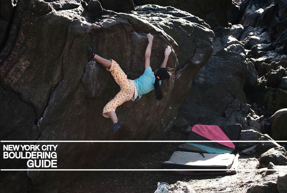 Ashima Shirashi Climbs her unrepeated problem, The Wave V10/11 Central Park, 108 kb