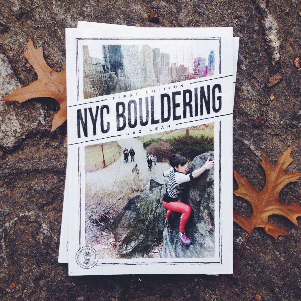 The NYC Bouldering guide, 176 kb