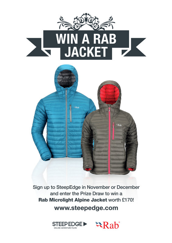 Win a Rab Jacket with SteepEdge, 67 kb
