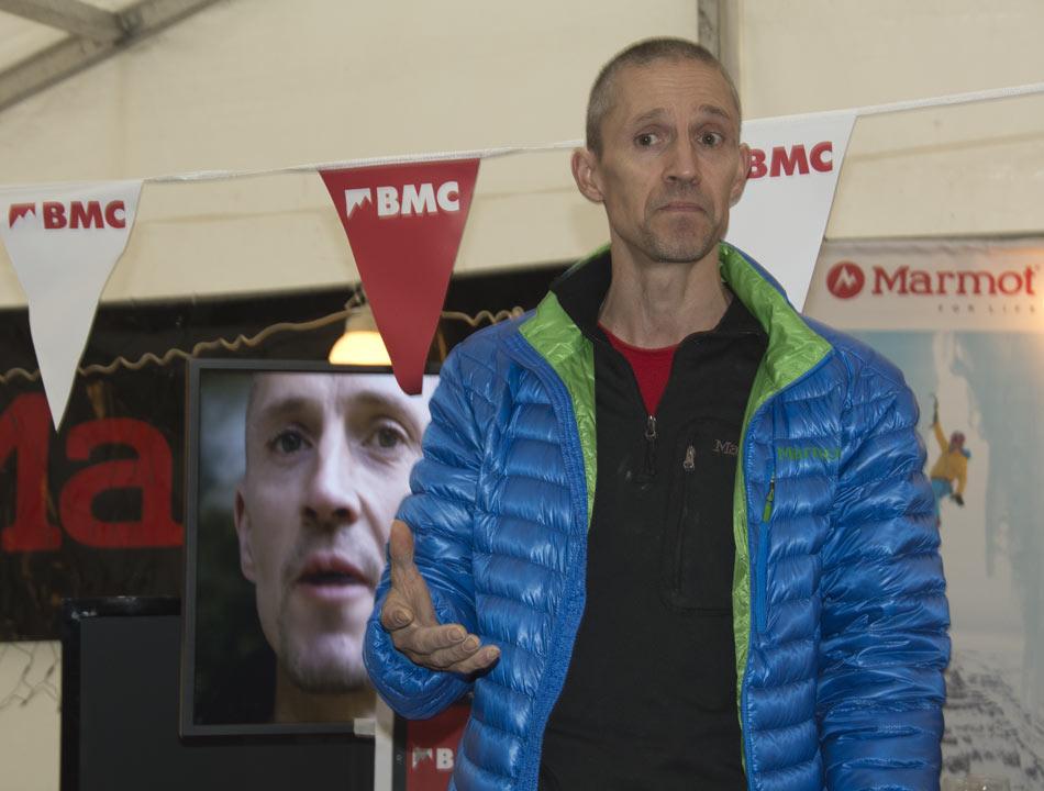 Steve McClure discussing his role as new BMC Ambassador, 89 kb