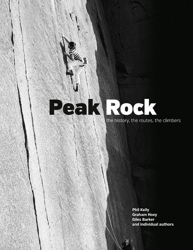 Peak Rock Cover. Andy Pollitt on Scritto's Republic at Millstone. Photo by Bernard Newman., 191 kb