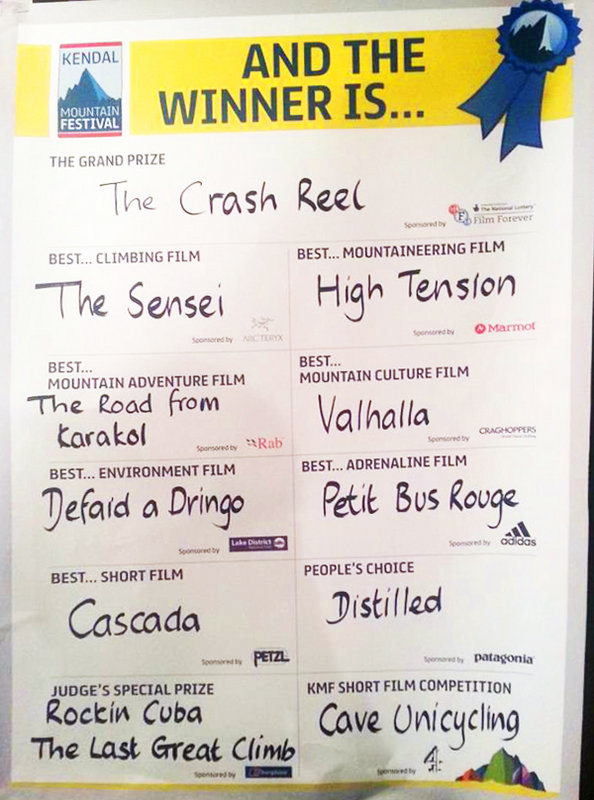 The Kendal Winners 2013 - have you seen them all?, 101 kb