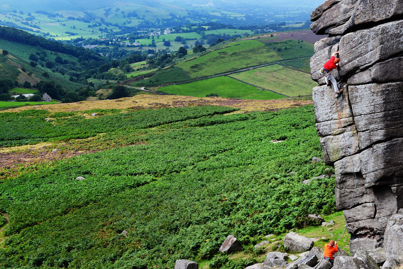 David Kirsfelds in jamming heaven on The File at Higgar Tor, 190 kb