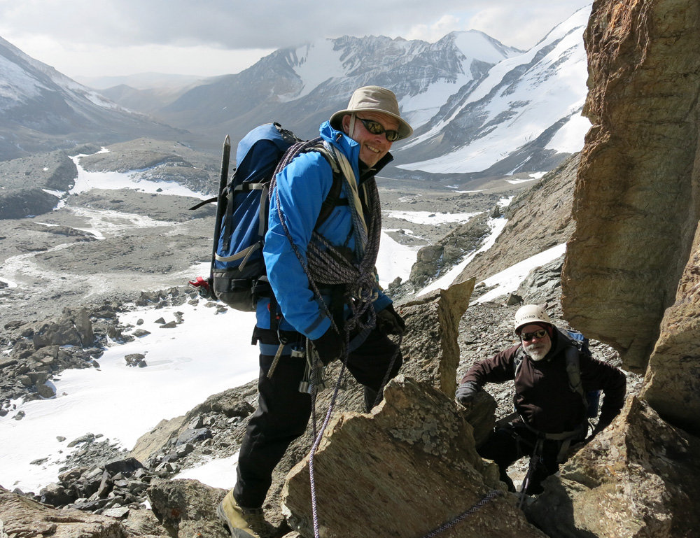 Pat Littlejohn guiding in Tien Shan, 245 kb