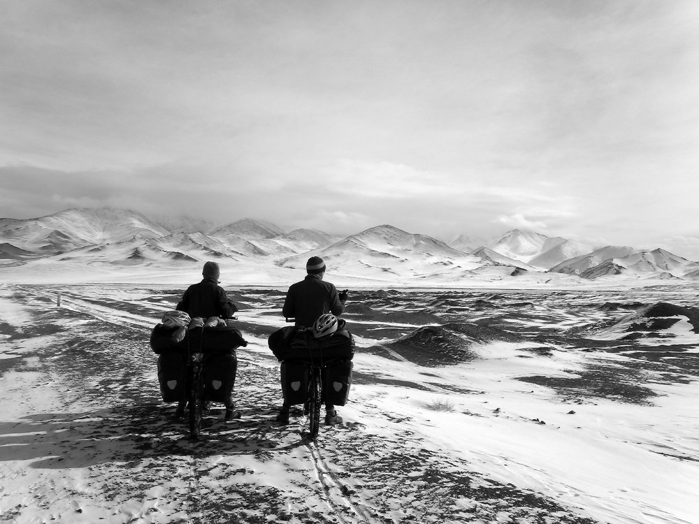 The Pamir mountains, Tajikistan, 158 kb
