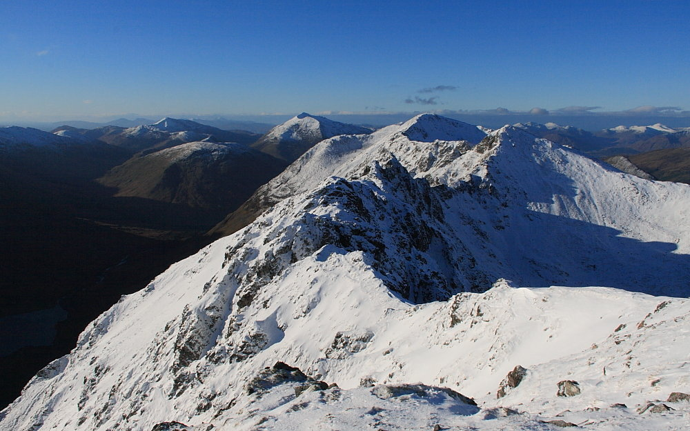 Aonach Eagach - the Mainland's gnarliest winter ridge traverse?, 150 kb