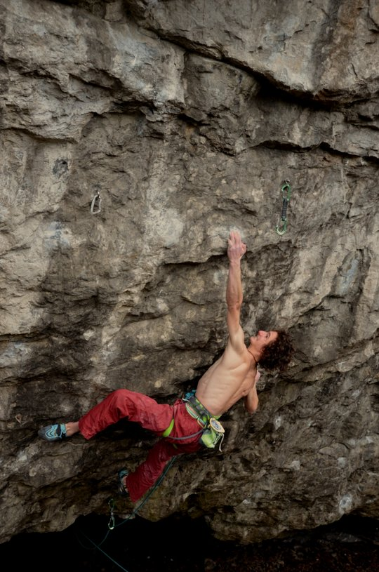 Adam Ondra on Vasil Vasil, 9b+, Sloup, Czech Republic, 139 kb